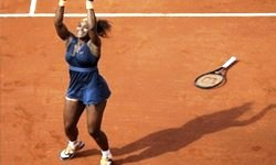 Roland Garros'ta zafer Serena Williams'ın