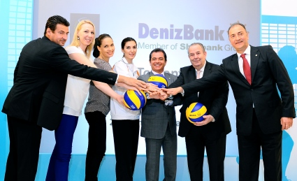 DenizBank'tan global arenada spora tam destek