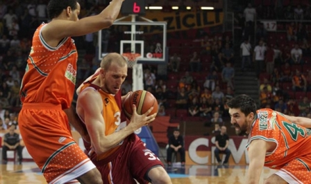 Galatasaray Liv Hospital: 76 - Banvit: 71